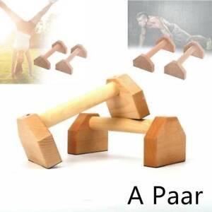 30/50cm Parallettes Holz Handstand- Liegestützgriffe Bodyweight Training YogaBar
