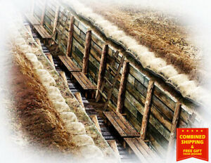 Master Box 35174 - The trench. WWI & WWII era 1/35 scale UK