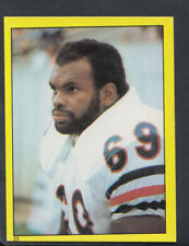 Topps 1982 American Football Sticker No 25 - Revie Sorey, Chicago Bears (T56)
