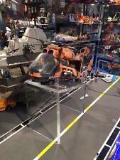 GI Joe Cobra Sky Striker Rattler Tomahawk All Ships Acrylic Display Stand TALL