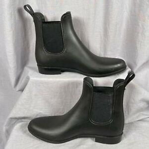 Sam Edelman Tinsley Waterproof Slip On Women's Size 9 Rubber Rain Boots Shoes