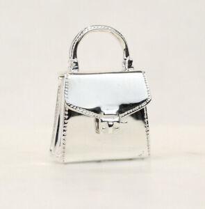 Tiffany & Co. Sterling Silver Handbag Purse Pocketbook Pill Box Vintage 1994