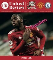 Manchester United v Chelsea PREMIER LEAGUE VERY LIMITED Programme 24/10/2020!!!!