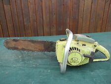 """Vintage PIONEER 1110 Chainsaw Chain Saw with 15"""" Bar"""