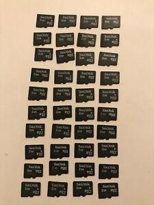 SanDisk 2GB Micro Sd Memory Card / Bundle Of 40