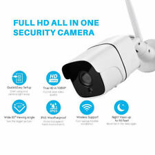 WIFI Bullet 2MP 1080P Security IP Camera Waterproof Wireless NightVision OUTDOOR