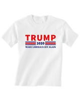 Donald Trump Tshirt Toddler T-Shirt 2020 MAGA Liberals