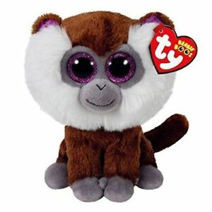 """Tamoo Monkey Plush Soft Toy, Ty Beanie Boo's Collection 6"""" (15cm)"""