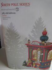 Dept 56 North Pole Jolly Club Ballroom 6003107 New Animated Sound Torn Box