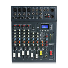 Studiomaster CLUBXS8 8 Channel PA Mixer Bluetooth Audio & USB