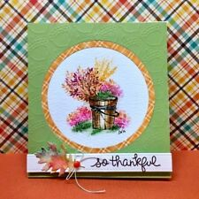 BUCKET (U get photo #2) RETIRED L@@k @examples ART IMPRESSIONS RUBER STAMPS