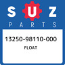 13250-98110-000 Suzuki Float 1325098110000, New Genuine OEM Part