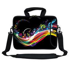 """Neoprene Laptop Bag Case w. Pocket Shoulder Strap to Fit Chromebook 11.6"""" 2704"""