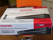 NEW Toshiba DR570 DVD Recorder Player Digital Analog Tuner 1080p UpConversion