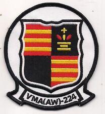USMC VMA (AW)-224 All Weather Fighter Attack Squadron VMA-224 Patch