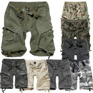 Brandit Classic Vintage Shorts 8 Farben S-7XL Herren Cargo Bermuda Army Short