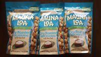 Mauna Loa Dry Roasted Macadamia Nuts with Sea Salt - 3 bags (10 oz per bag)