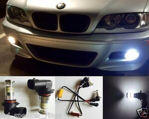 9006 LED Fog light BMW 325Ci 545i 530i 525i 530xi 525xi ERROR FREE - 48 LEDs