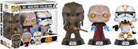 Tarful Unhooded Emperor & Utapeau Clone Star Wars Funko Pop Vinyls New in Box