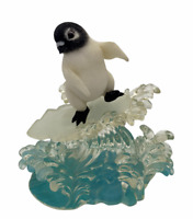 Hamilton Collection Penguin Surf's Up from Chillin' in the Sun figurine