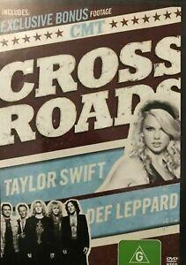 Crossroads DVD Cross Roads - Taylor Swift and Def Leppard Live Concert Rare