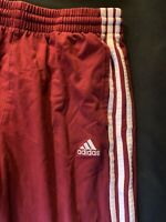 YOUTH BOYS Red ADIDAS  SOCCER RUNNING SWEAT PANTS SWEATPANTS Medium
