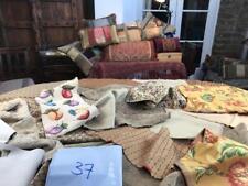 Job Lot Designer Fabric Remnants Neutral Colours Colony Chenille Damask