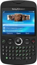 Sony Ericsson txt Ck13i Black Unlocked full keyboard,WiFi Quadband Gsm Cellphone