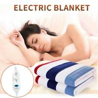 Electric Blanket Double Thermostat Heating Warmer 110V FREE Shipping
