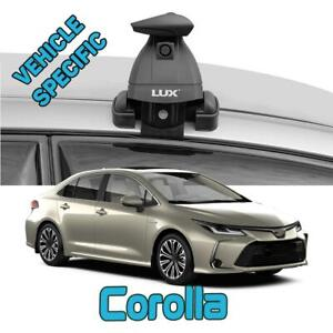 Paw Lockable Aluminium Roof bars for cars with standard roof for Toyota Corolla