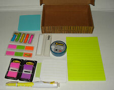 3M POST-IT KIT #686-OKIT TABS/ARROW/FLAG/STICKY NOTES/PAD/TAPE/HIGHLIGHTER PEN