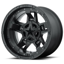 KMC XD 17x8 ROCKSTAR 3 Matte Black Alloy Mag Wheel Rim Suit Ranger Triton D40