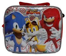 Sonic Boom Lunch Bag with Strap Insulated Disney the Hedgehog