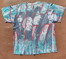 More details for vintage 1992 kiss revenge unholy tour all over print t shirt l winterland hanes