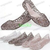 Hot Sale Ventilate Crystal Shoes Hot Summer Jelly Hollow Out Bird's Nest Sandal#