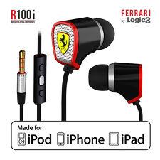 NEW Ferrari by Logic3 Scuderia R100i In-ear Headphones