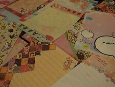 Kawaii San-X Chocopa Peinguin Bear Panda Large Loose Memo Sheets 25pcs (2)