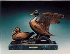 KENT ULLBERG   Original   Sculpture   Of   PINTAIL DUCKS
