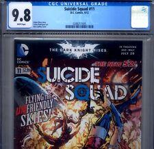 PRIMO:  SUICIDE SQUAD #11 NM/MT 9.8 CGC HIGHEST Harley Quinn DC movie New 52 lot