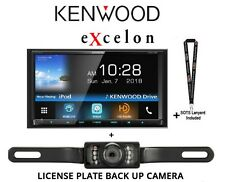 "New listing Kenwood eXcelon Ddx795 6.95"" Dvd Receiver Hd Radio & License Plate Back Up Cam"