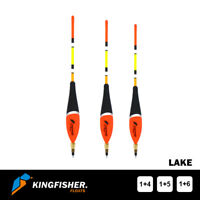 "WAGGLER FISHING FLOAT The Kingfisher ""Lake"" Pack of 3 - Premium Quality"