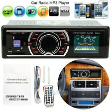 Car Audio Stereo In-Dash FM Aux Input Receiver w/ SD USB MP3 Radio Player Remote