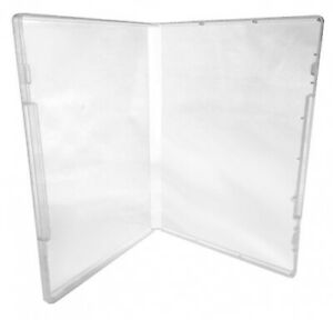 10 Clear Storage Cases 14mm for Rubber Stamps No Tabs (No Hub)