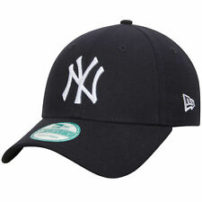 New York Yankees MLB Baseball New Era 9Forty Cap Kappe Grey / White Logo Klett