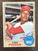 1968 Topps Vada Pinson #90 NM-MT Cincinnati Reds
