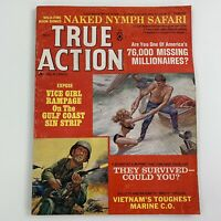 True Action Nov 1967 Men's Pulp Magazine Naked Nymph Safari