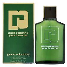 Paco Rabanne Pour Homme 100 ml Eau de Toilette Spray Nuevo y Sellado