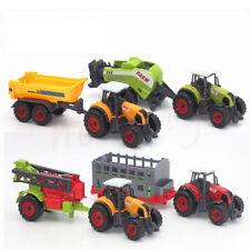 Classical Alloy Farm Tractor Car Children Toys Models Diecast Random Color