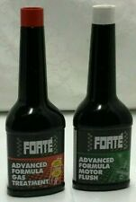 FORTE ADVANCED FORMULA PETROL TREATMENT + ADVANCED FORMULA MOTOR FLUSH