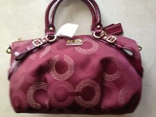 NWT COACH MADISON DOTTED OP ART SOPHIA 15935  RARE NEW